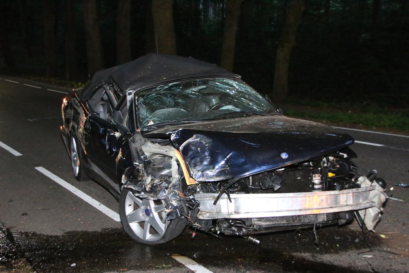 Ongeluk op de Schelmseweg.