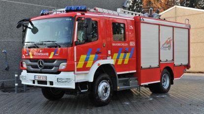 Brandweer oefent in Veldwezelt