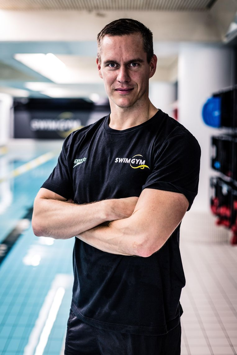 Zwemondernemer Johan Kenkhuis. Beeld Annemarie Dekker