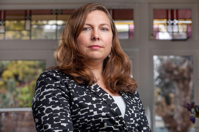 Bianca Buurman, voorzitter van Verpleegkundigen & Verzorgenden Nederland.