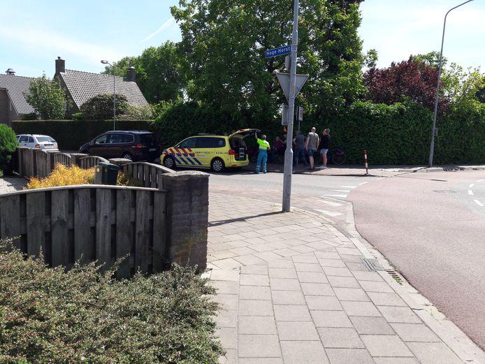 Een Duitse fietser heeft een hoofdwond opgelopen bij een val in Groesbeek.