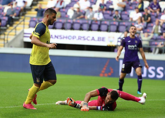 Deniz Undav a inscrit deux buts contre Anderlecht