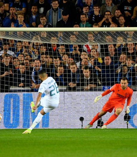 EN DIRECT: penalty parfait de Mahrez, ça se complique pour Bruges (0-2)