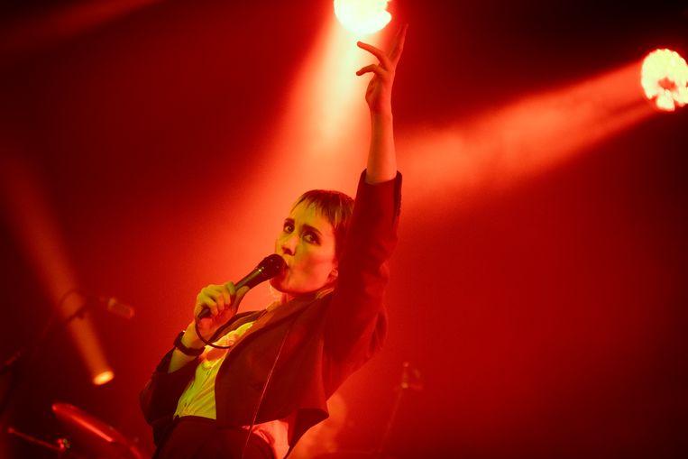 Cate Le Bon op Sonic City: dikke hits voor al wie het wil horen Beeld Alex Vanhee