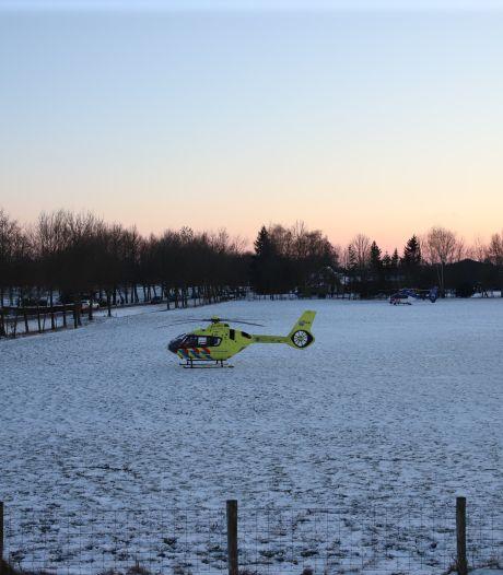 Traumahelikopter ingezet voor gevallen schaatsster