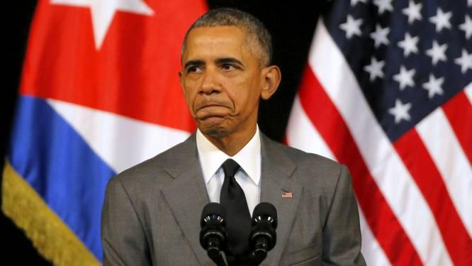 """Obama: """"We doen wat nodig is om vriend en bondgenoot België te helpen"""""""