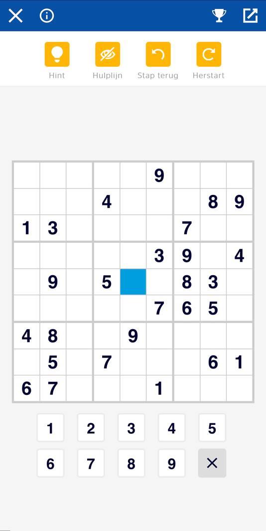 Sudoku in FUN omgeving