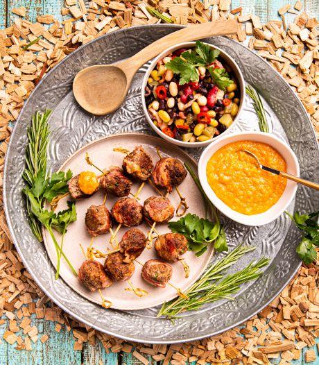 Wat Eten We Vandaag: 'moink'-balls met mango-barbecuesaus
