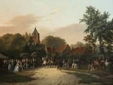 Zeeuws Museum koopt Souburgs schilderij van ringrijden uit 1858