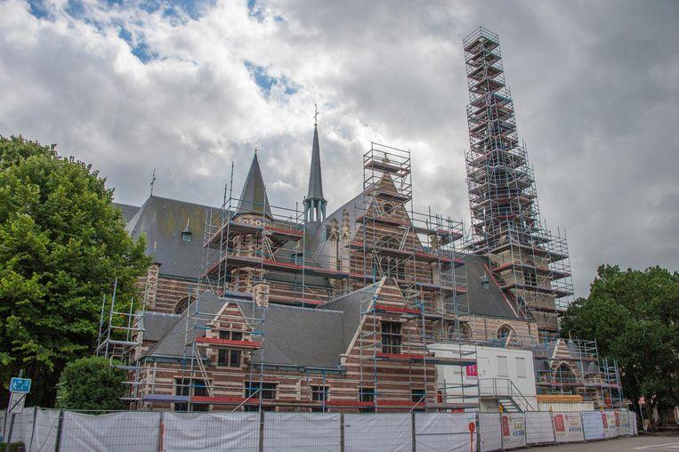 De tweede fase van de renovatie gaat van start.