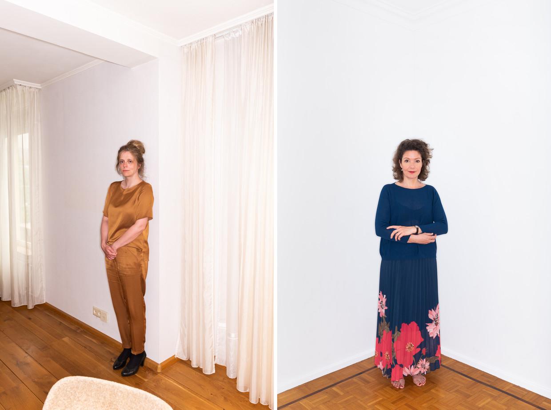 Filosofen Katleen Gabriels en Tinneke Beeckman.