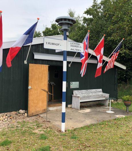 Bij loeiend luchtalarm in Aalten opnieuw de schuilkelder in