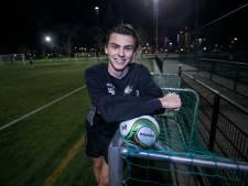 Quinn van Groningen ruilt UNA in voor FC Eindhoven AV: 'Hele mooie stap in mijn carrière'