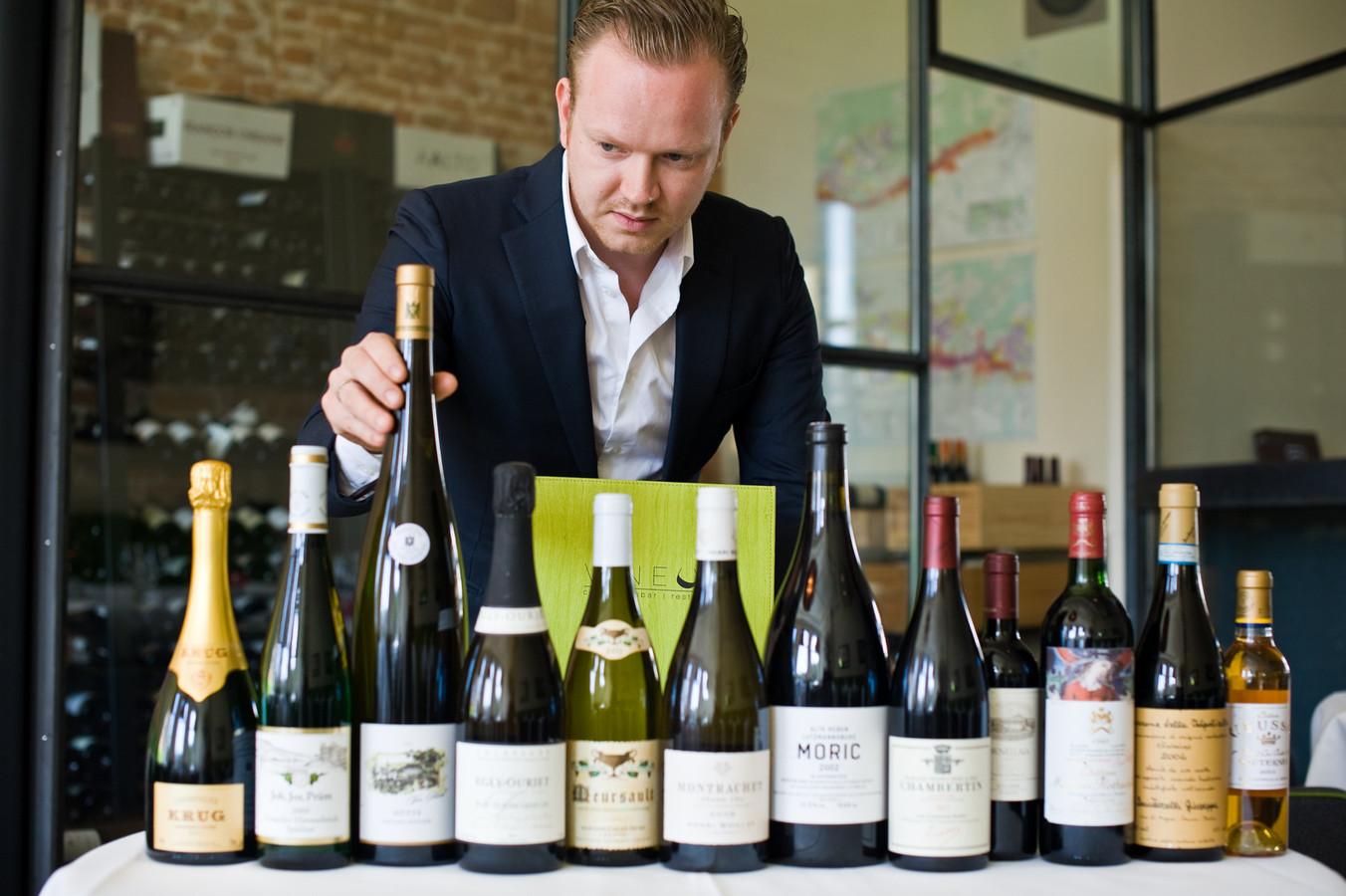 David van Steenderen van restaurant Vineum