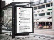 Twitterruzie tussen topviroloog en Willem Engel op 2000 reclameborden: 'Je bent een mafkees'