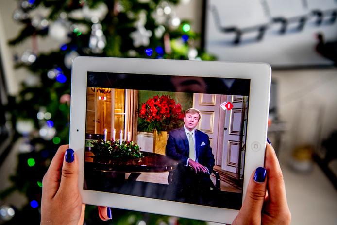""",,Een beter Nederland begint in Kleine Huisjes"""",  zei koning Willem-Alexander in zijn kersttoespraak."""