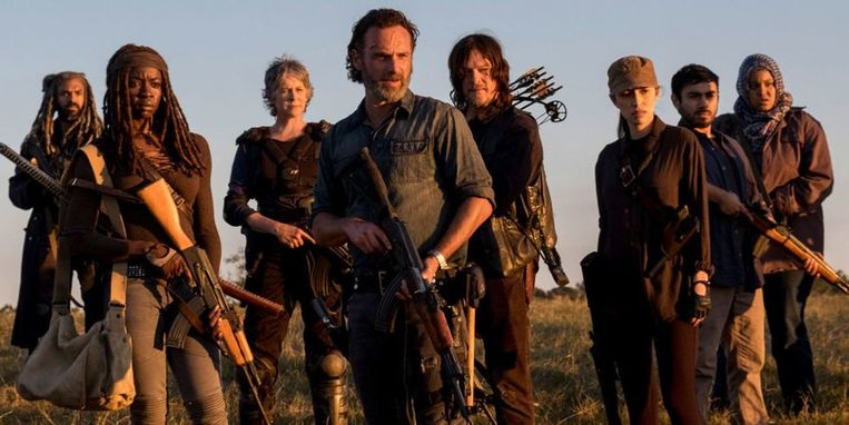 'The Walking Dead' Beeld web