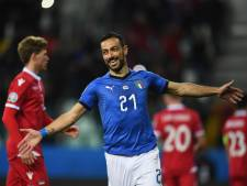 Quagliarella pakt record bij winnend Italië