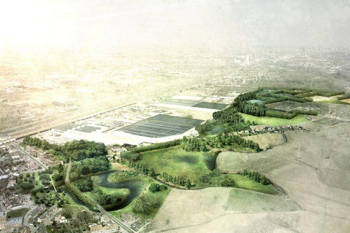 Een beeld van hoe groen het er in Lot binnen enkele jaren kan uitzien.