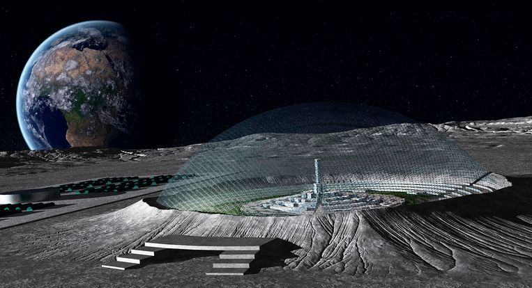Concept van NASA. Beeld NASA