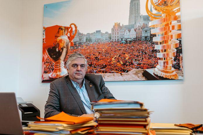 Frank Lagast, algemeen directeur van KV Mechelen.
