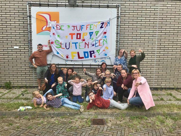 Het schooltje in Uitkerke zou binnen vijf jaar verdwijnen.