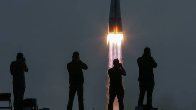 Nieuwe bemanning onderweg naar ruimtestation ISS