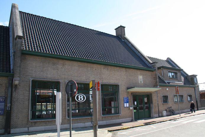 Het station van Diksmuide