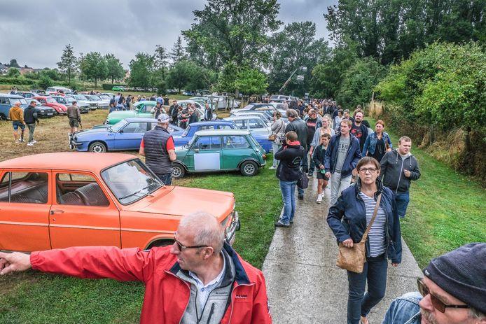 Een sfeerbeeld tijdens de laatste editie in 2019, waarop duizenden bezoekers van de partij waren.