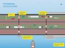 Haringvlietbrug. Werkzaamheden 2021. Rijbanen