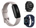 Fitbit Inspire 2, Garmin Fenix 6X Pro Solar, Apple Watch Series 6