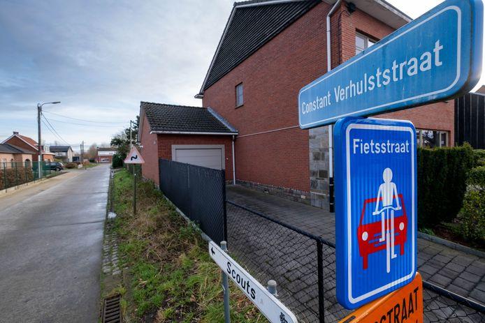 Een deel van de Constant Verhulststraat is voortaan een fietsstraat