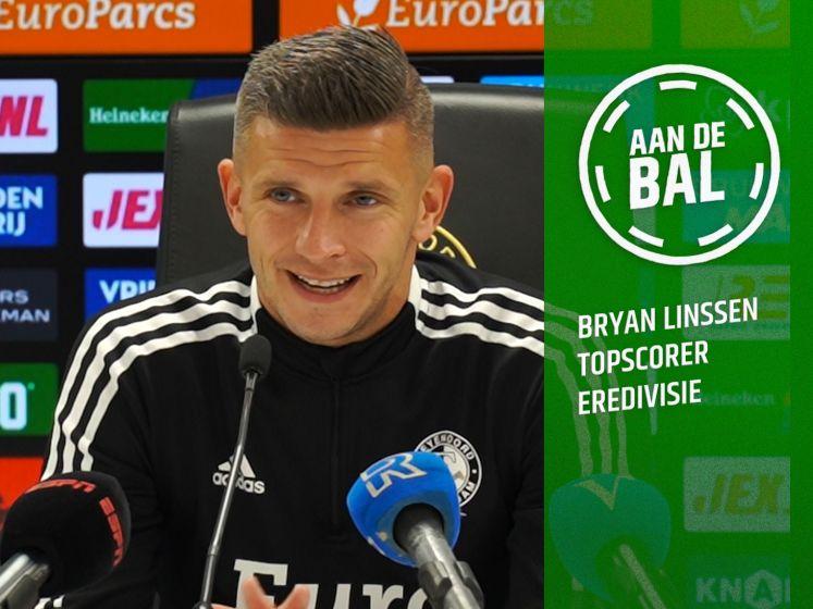 Bryan Linssen in topvorm bij Feyenoord: 'Ik ben spits en topscorer, dan kan niemand wat zeggen'