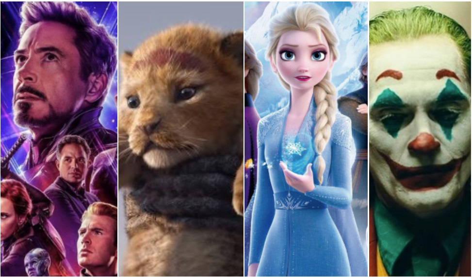 De meest succesvolle films van 2019.