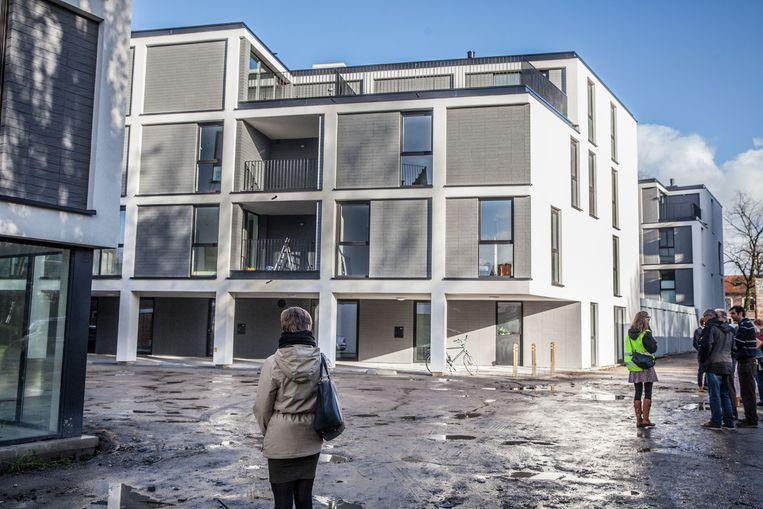 Deze appartementen worden de nieuwe stek van de bewoners van de Rabottorens.