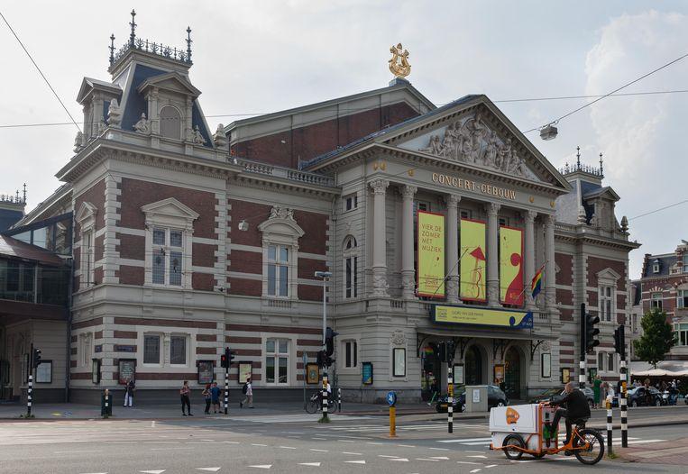 Het Concertgebouw. Beeld Nina Schollaardt