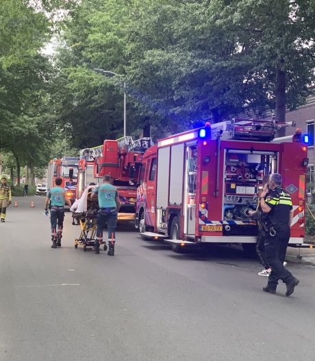 Man gewond bij woningbrand in Almelo