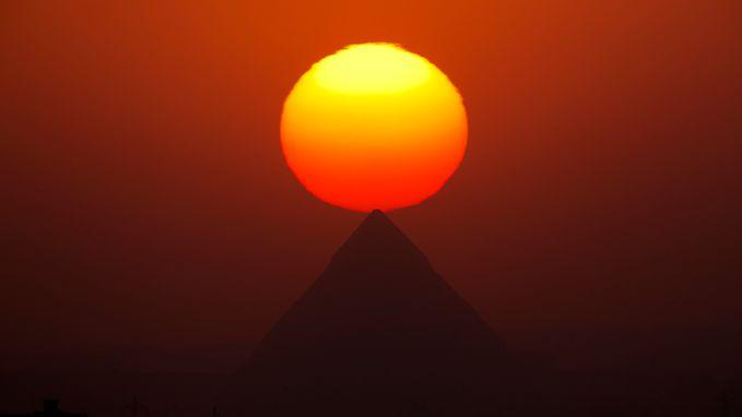 Klimaatverandering deed Egyptische dynastie instorten