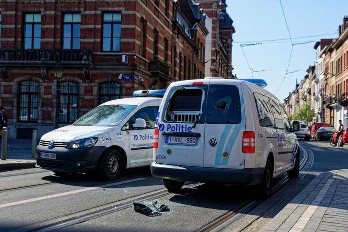Émeutes samedi à Anderlecht