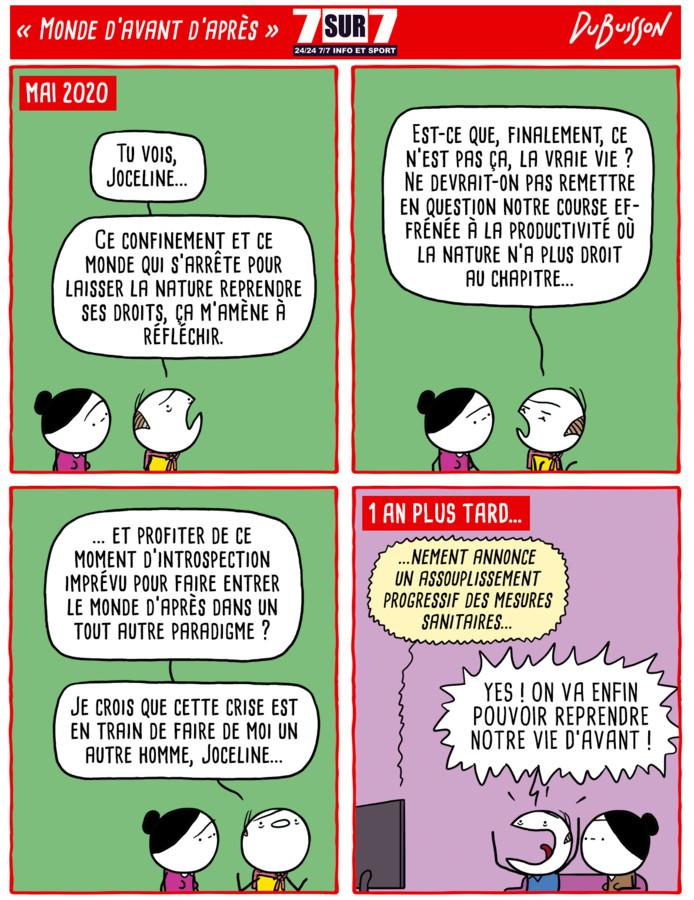 """""""Monde d'avant d'après""""."""