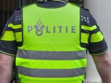 Man toont zijn zaakje in de trein tussen Rotterdam en Breda