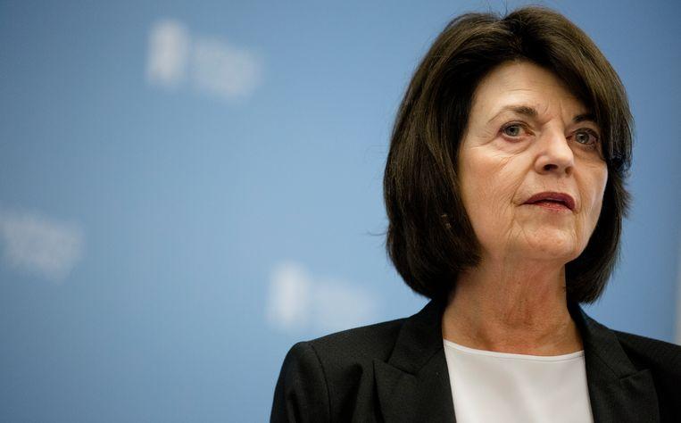 Nationaal Rapporteur Mensenhandel en Seksueel Geweld tegen Kinderen, Corinne Dettmeijer. Beeld ANP