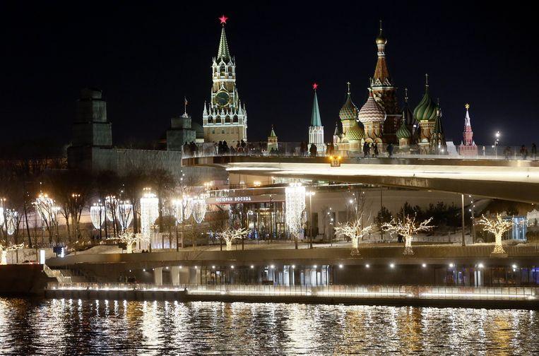 Het Kremlin in Moskou. Beeld EPA