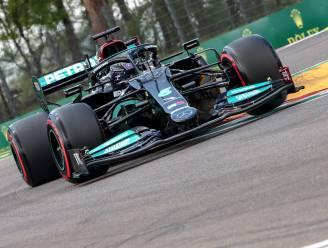 Hamilton grijpt polepositie in GP van Imola, Pérez is ploegmaat Verstappen te snel af