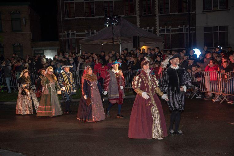 Historische stoet Houtem Jaarmarkt.
