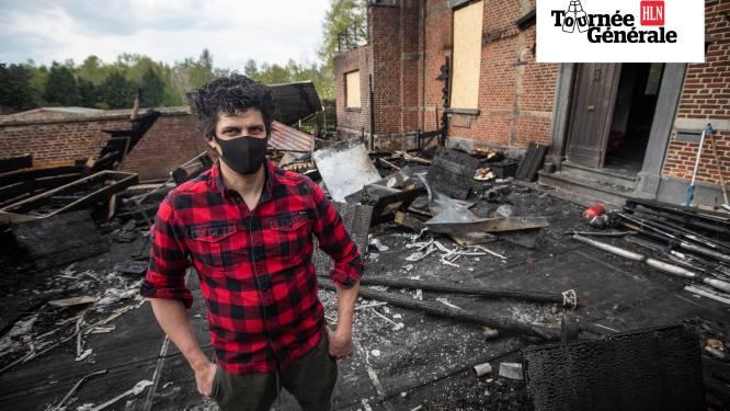 """Huize Nassau gaat week voor heropening in vlammen op, maar zaakvoerder Rob (37) werkt al aan pop-up: """"De moed verliezen? Zo zit ik niet in elkaar!"""""""