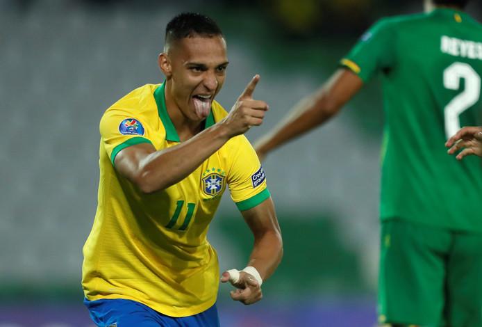 Antony dos Santos bij Brazilië onder-23.