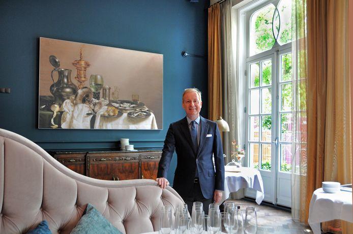 Mondragon-hotelier Govert Janzen.