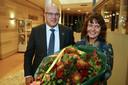 Egbert Lichtenberg (52) en zijn vrouw Nienke werden vlak na de bekendmaking warm onthaald in het gemeentehuis in Almkerk.