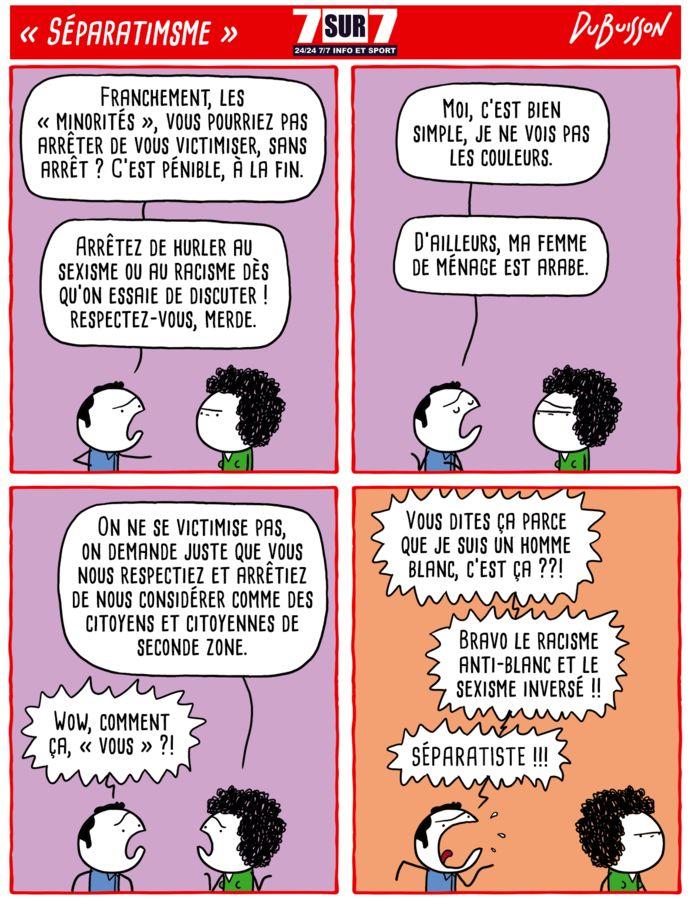 """Séparatisme"", lundi 8 février 2021"